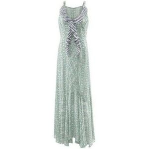 CAbi 5104 garden party dress maxi green shabby chi
